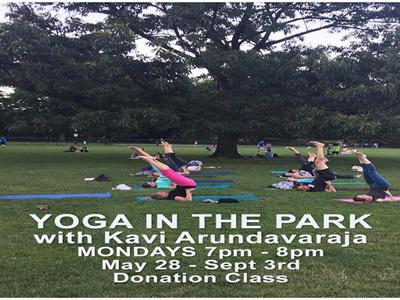 Yoga In the Park with Kavi Arundavaraja image