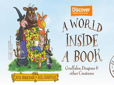 A+World+Inside+a+Book%3A+Gruffalos%2C+Dragons+and+Other+Creature image